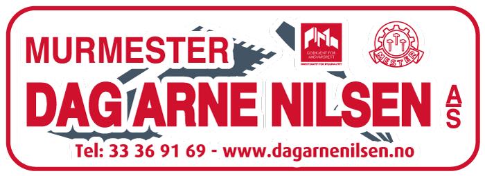 Logo til Murmester Dag Arne Nilsen